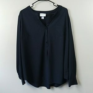 Pure Energy Black Blouse